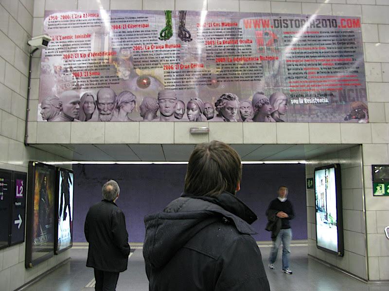 Suburbe, Underground al Metro: Distòpia 2010
